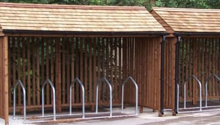 Enviro Timber Cycle Shelter