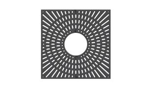 Ferrocast® 61p series Tree grille