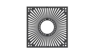 Ferrocast® 65p series Tree grille