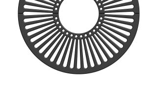 Ferrocast® 68p Series Tree grille