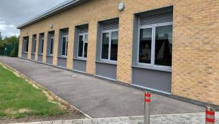 School in Kimmeridge built using Marshalls' bricks