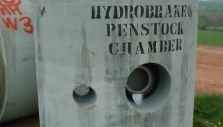 Hydro-Brake Penstock Chambers