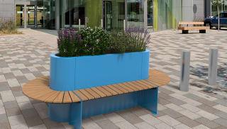 RhinoGuard® Kirkos Double Planter Seat