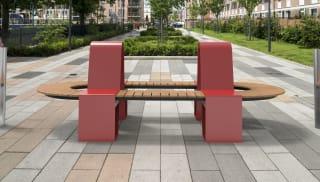 RhinoGuard® Kirkos Double Hoop Seat