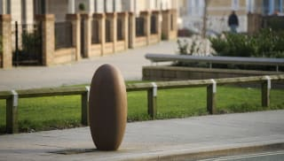 Antony Gormley Cast Iron Bollard No 1.
