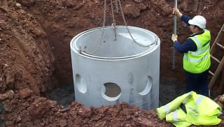 Pump and Wet Well Chambers