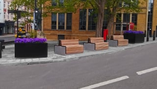 RhinoGuard® RhinoBlok seating at Windsor