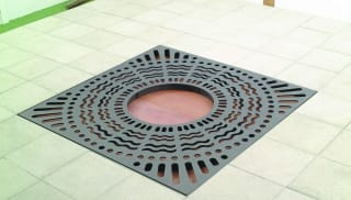 Sineu Graff Waves Square Tree Grille