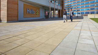 Coloured Pimple Paving