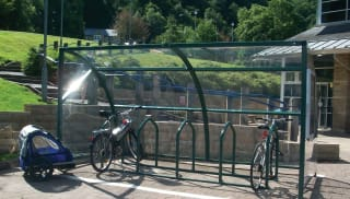 Velozone Cycle Shelter