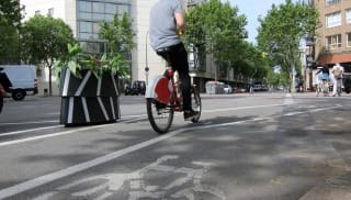 Zicla Zebra Planter - making cycling safer