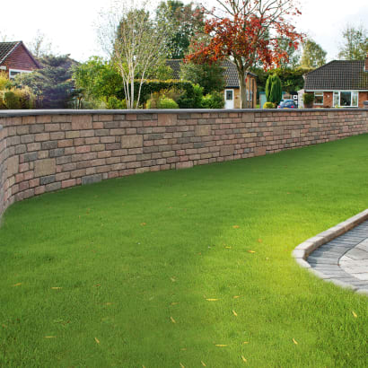 Drivesett Tegula Walling - Traditional