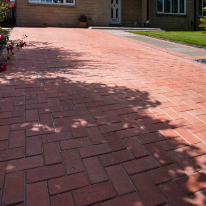 Drivesys Classic Paver - Manor Red