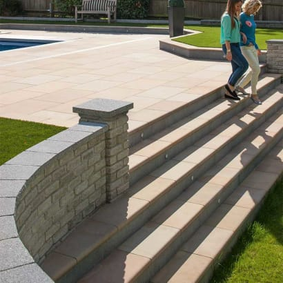 Sawn Versuro Steps - Autumn Bronze Multi