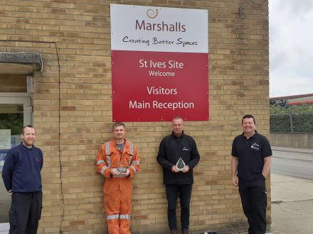 Marshalls Engineering Apprentice receives Award