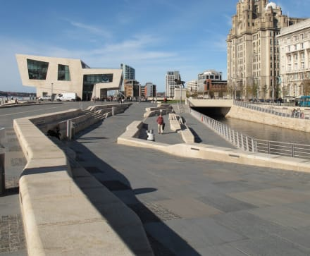 Marshalls celebrates as Liverpool's Pier Head voted 'UK's favourite natural stone project'