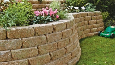 Reconstituted Stone Walling