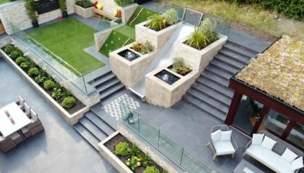 completed project for signature landscapes.