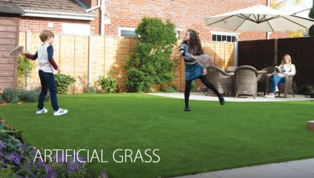 Marshalls Artificial Grass brochure section for 2020.
