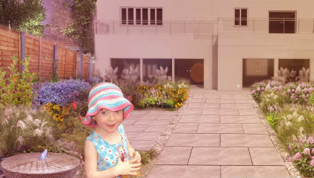 Child friendly garden design ideas