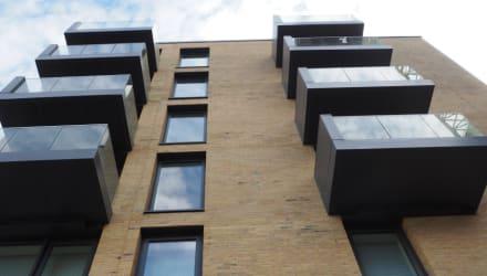 Apex Social Housing Block