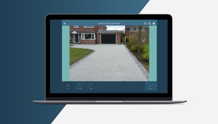 Try our free Driveway Visualiser software to transform your driveway