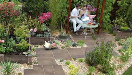 garden patio ideas on a budget
