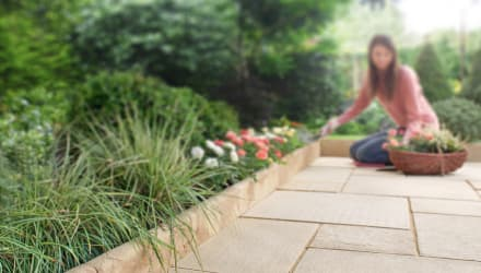 create your own sensory garden
