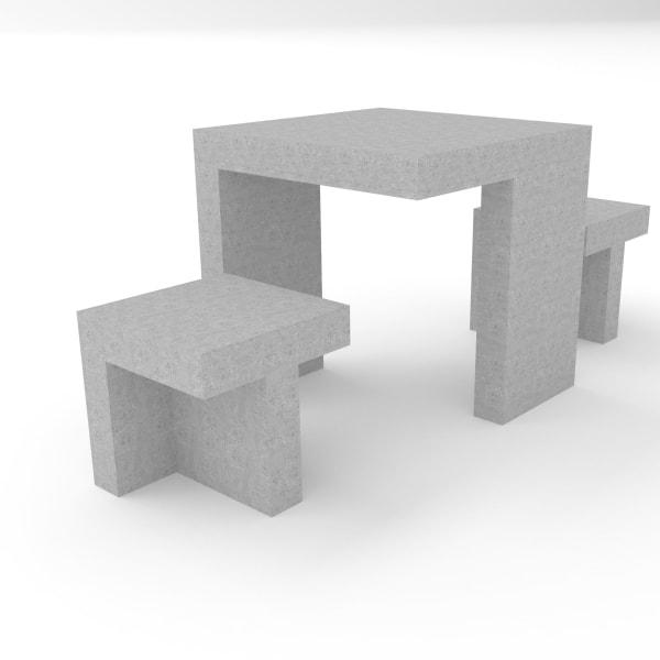 escofet prat concrete seating