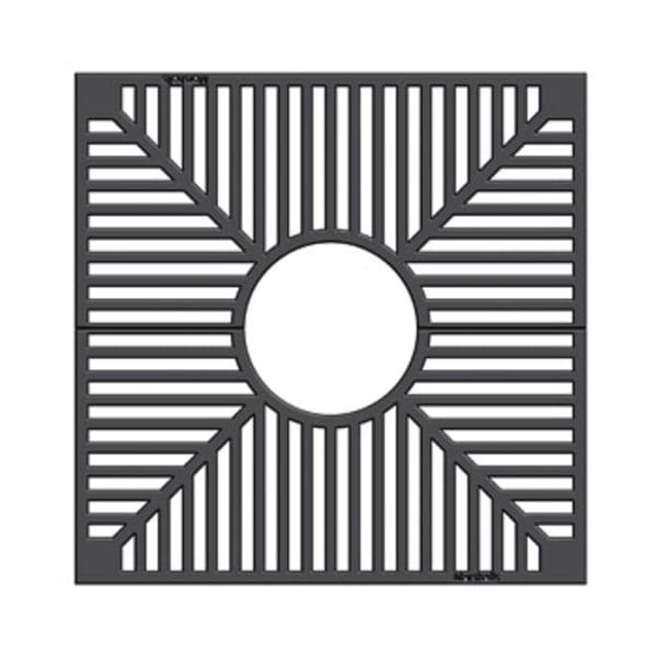 ferrocast 59p series polyurethane tree grille