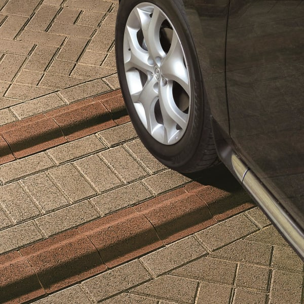 keycheck rumble strip and deterrent concrete paving