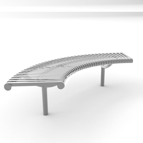 m3 curved bench