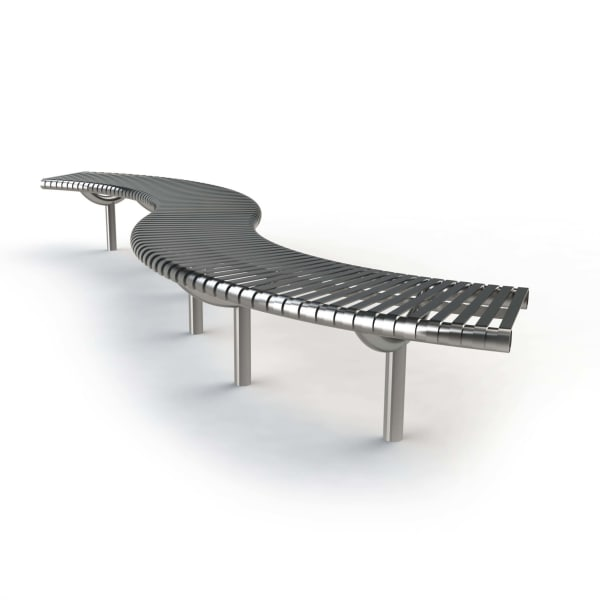 m3 serpentine bench system