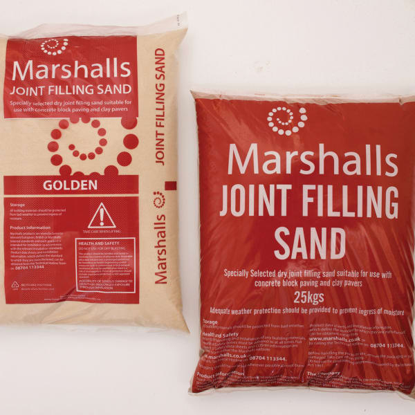 marshalls joint filling sand