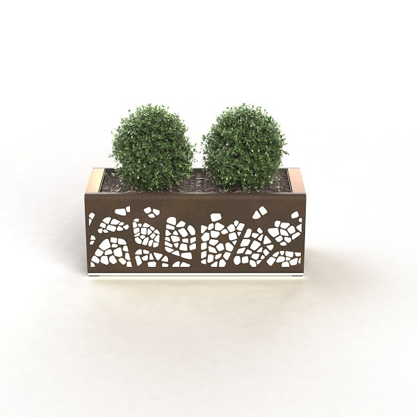 natural elements - standalone planter