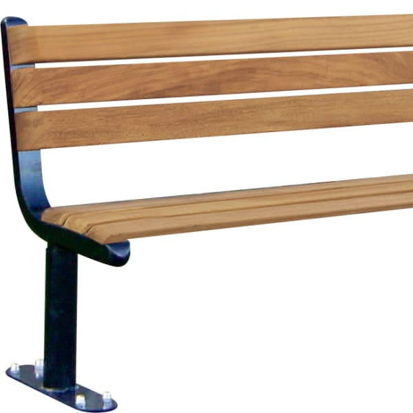parkway seat ferrocast & timber