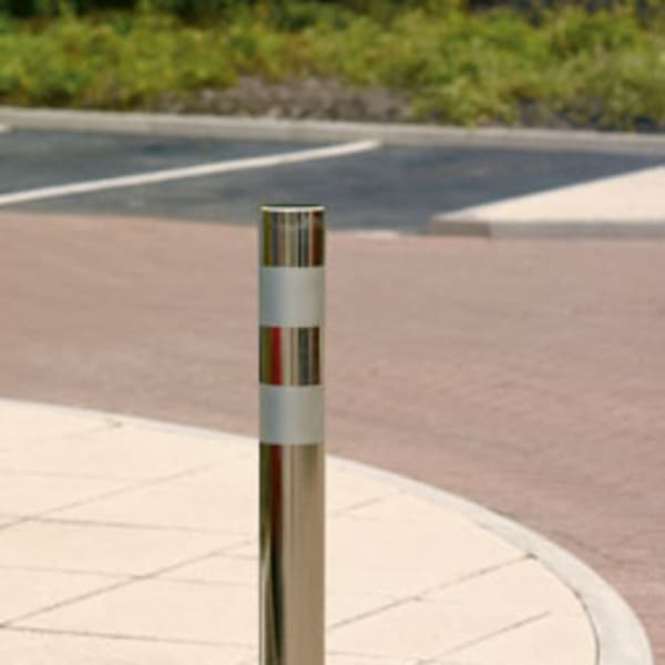 rhino rs007 stainless steel bollard
