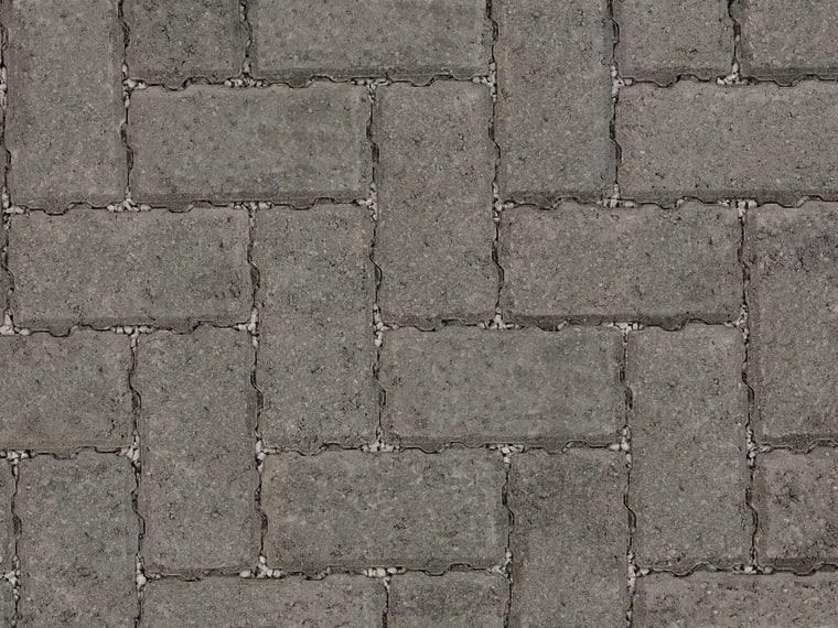 Marshalls Drivline Priora block paving in charcoal.