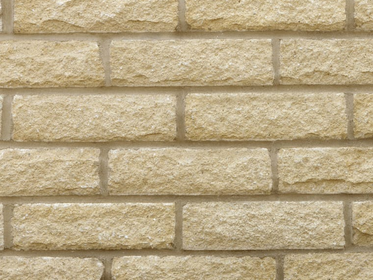 Marshalls Marshalite Pitched walling in Buff