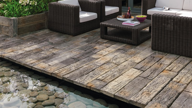 Woodstone Sleepers And Posts - Driftwood
