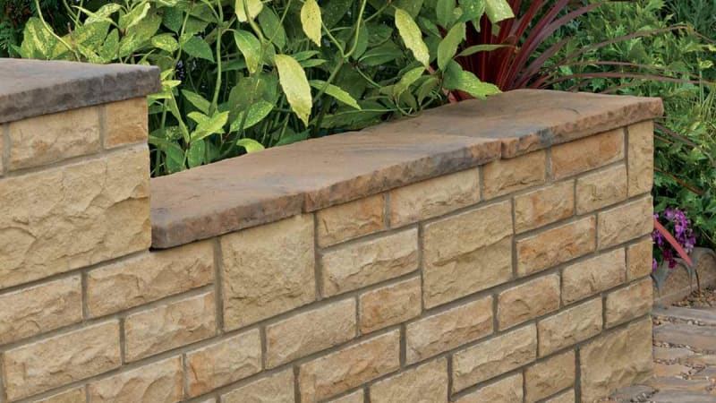 Heritage Riven Coping - Weathered Yorkstone
