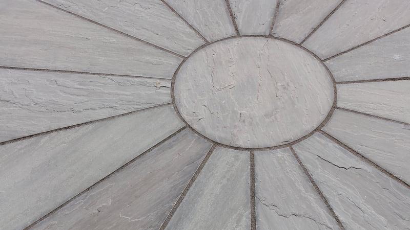 Riven Harena Circle Silver Birch Multi