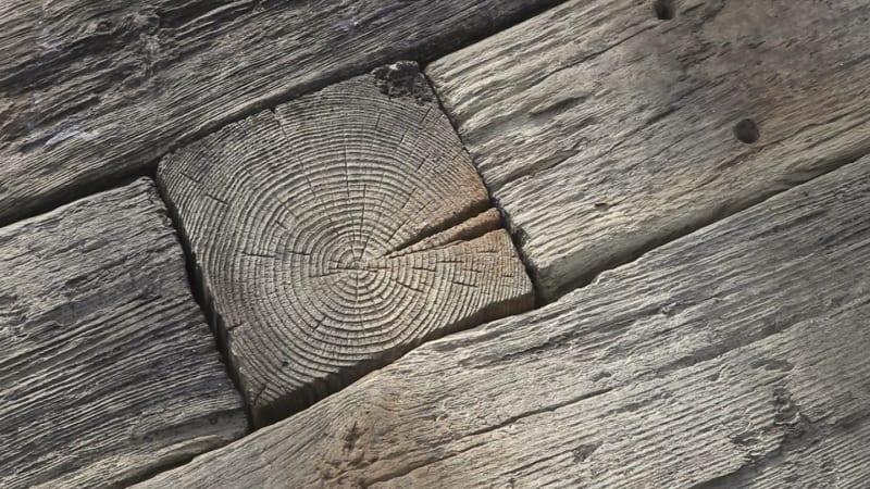 Marshalls woodstone sleepers in driftwood