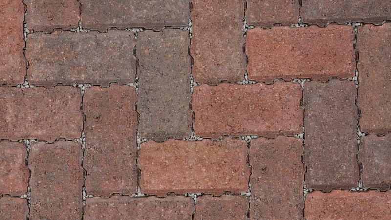 Marshalls Driveline Priora block paving in brindle colour.