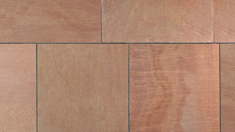 Marshalls Flamed Narias in Autumn Bronze Multi.
