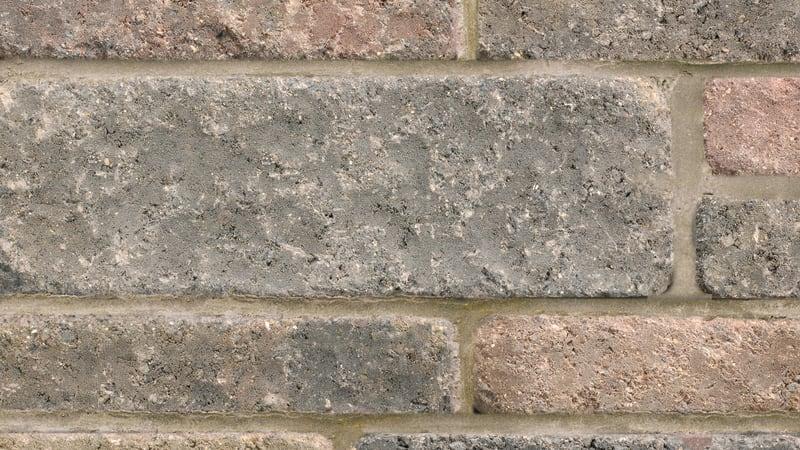 Marshalls Drivesett Tegula walling in traditional.