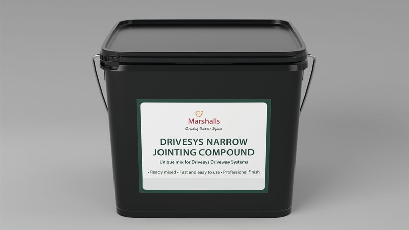 Marshalls Drivesys Jointing Compound in Grey.