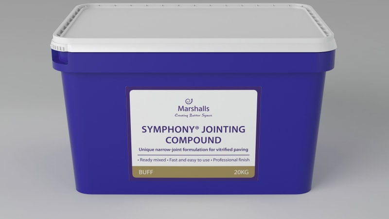 Marshalls Symphony Jointing Compound in Buff.
