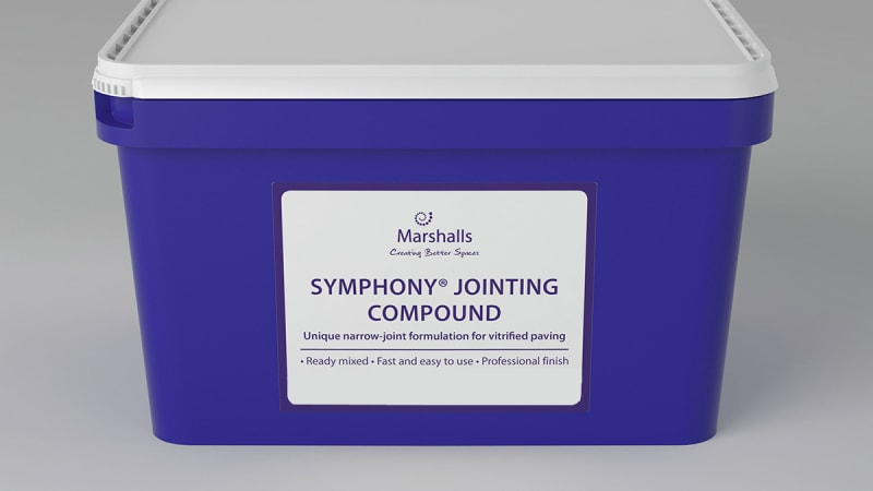 Marshalls Symphony Jointing Compound in stone grey