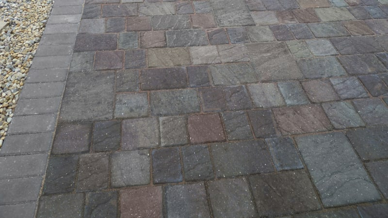 Marshalls Drivesett Natrale driveway block paving in slate